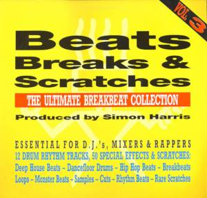 Cover - Simon Harris: Beats, Breaks & Scratches - Vol. 3