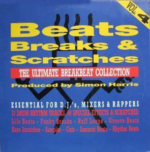Cover - Simon Harris: Beats, Breaks & Scratches - Vol. 4