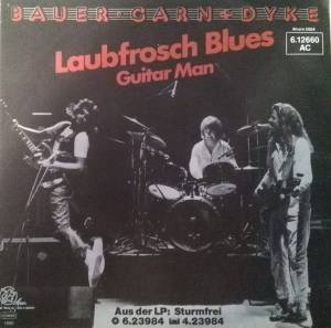 Cover - Bauer, Garn & Dyke: Laubfrosch Blues