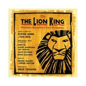 Elton John & Tim Rice: Lion King, The - Cover