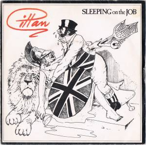 Gillan: Sleeping On The Job - Cover