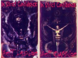 Cover - In Strict Confidence: Hell Inside/Hell Outside