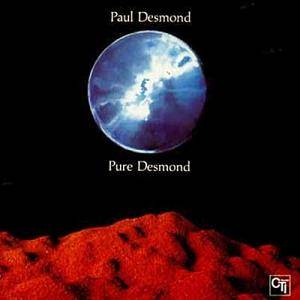 Paul Desmond: Pure Desmond - Cover
