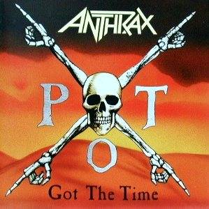 Anthrax: Got The Time - Cover