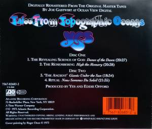 Yes: Tales From Topographic Oceans (2-CD) - Bild 2