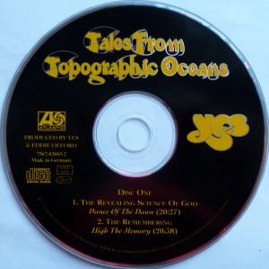 Yes: Tales From Topographic Oceans (2-CD) - Bild 3