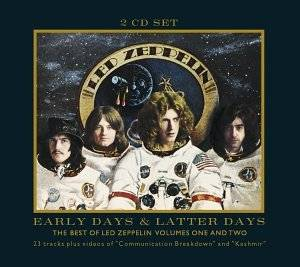 Led Zeppelin: Early Days & Latter Days - The Best Of Led Zeppelin Volumes One And Two - Cover