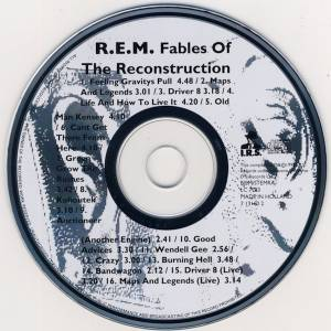 R.E.M.: Fables Of The Reconstruction (CD) - Bild 3