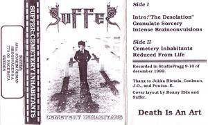 Cover - Suffer: Cemetery Inhabitants