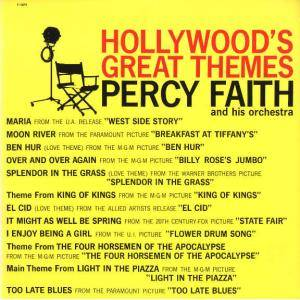 Cover - Percy Faith: Hollywood's Great Themes