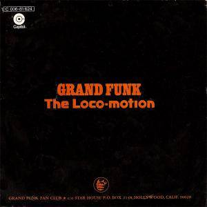 Grand Funk Railroad: Loco-Motion, The - Cover