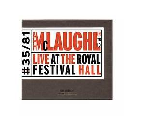John McLaughlin Trio: Live At The Royal Festival Hall - Cover