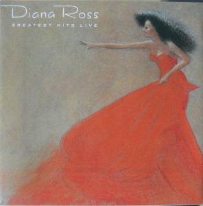 Diana Ross: Greatest Hits Live - Cover