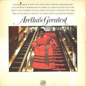 Aretha Franklin: Aretha's Greatest Hits - Cover