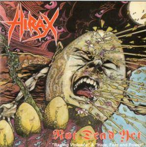 Hirax: Not Dead Yet - Cover