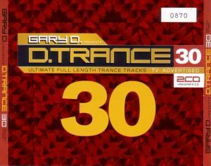 Gary D. Presents D.Trance 30 - Cover