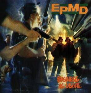 EPMD: Business As Usual - Cover