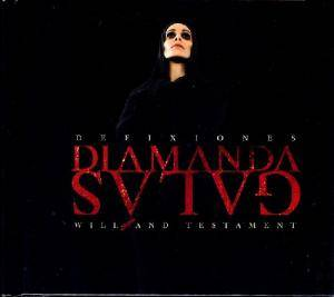 Cover - Diamanda Galás: Defixiones: Will And Testament, Orders From The Dead