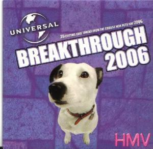 Breakthrough 2006: Universal Music Presents The Best New Music From The Best New Artists For 2006 - Cover