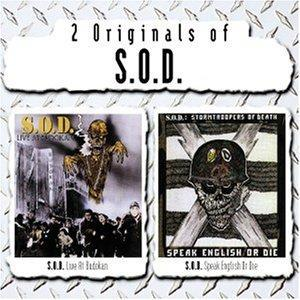 S.O.D.: Live At Budokan / Speak English Or Die - Cover