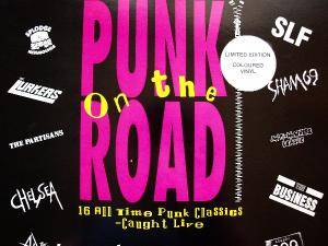 Punk On The Road 16 All Time Punk Classics-Caught Live - Cover