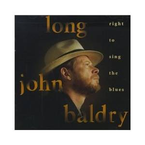 Cover - Long John Baldry: Right To Sing The Blues