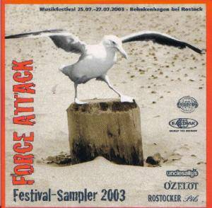 Cover - Punkles, The: Force Attack Festival-Sampler 2003