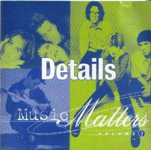 Details Music Matters Volume 7 - Cover