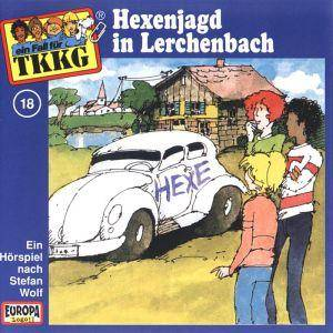 TKKG: (018) Hexenjagd In Lerchenbach - Cover