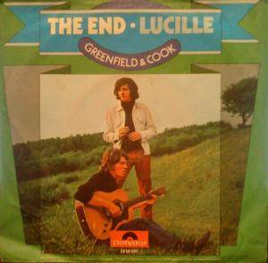 Cover - Greenfield And Cook: End - Lucille, The