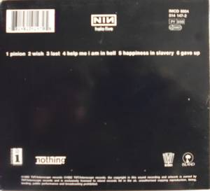 Nine Inch Nails: Broken (Mini-CD / EP) - Bild 2