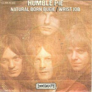 Humble Pie: Natural Born Bugie - Cover