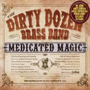 The Dirty Dozen Brass Band: Medicated Magic - Cover