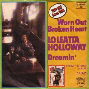 Cover - Loleatta Holloway: Worn Out Broken Heart