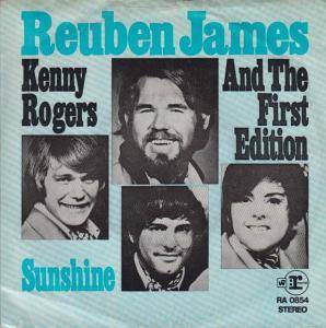 Cover - Kenny Rogers & The First Edition: Reuben James