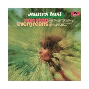 James Last: Non Stop Evergreens - Cover