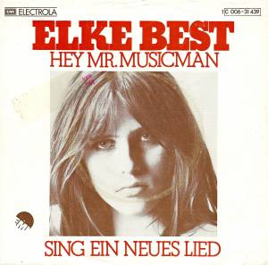 Cover - Elke Best: Hey Mr.Musicman