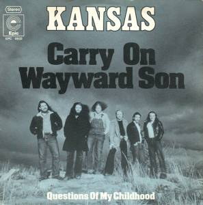 Kansas: Carry On Wayward Son - Cover