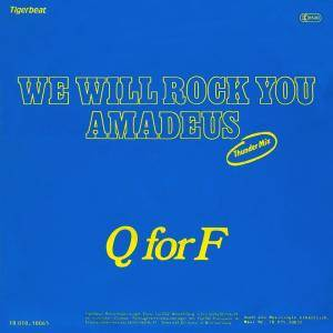 Cover - Q For F: We Will Rock You Amadeus