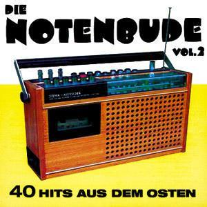 Notenbude - 40 Hits Aus Dem Osten, Vol. 2, Die - Cover