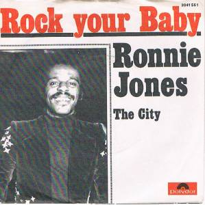 Cover - Ronnie Jones: Rock Your Baby