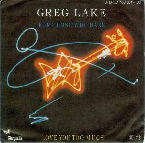 Cover - Greg Lake: For Those Who Dare