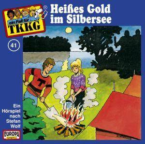 TKKG: (041) Heißes Gold Im Silbersee - Cover