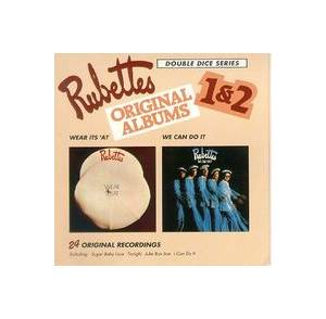 Cover - Rubettes, The: Rubettes Original Albums 1 & 2 - Wear Its 'At / We Can Do It