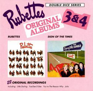 Cover - Rubettes, The: Rubettes Original Albums 3 & 4 - Rubettes / Sign Of The Times