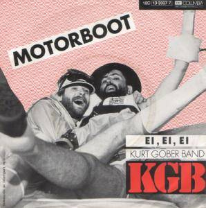 Cover - KGB (Kurt Gober Band): Motorboot