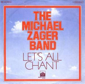The Michael Zager Band: Let's All Chant - Cover