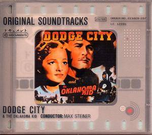 Cover - Max Steiner: Dodge City & The Oklahoma Kid