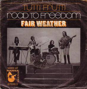 Cover - Fair Weather: Tutti Frutti