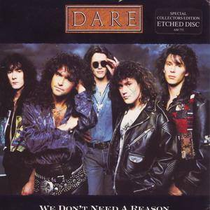 Dare: We Don't Need A Reason - Cover